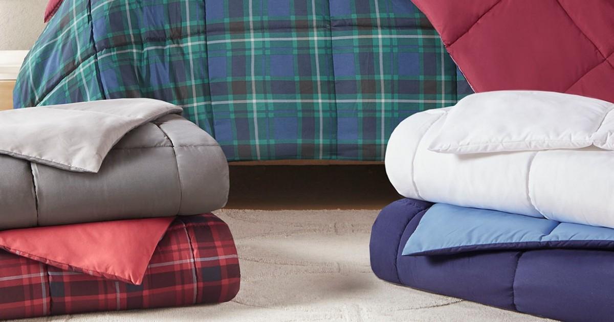 Martha Stewart Down Alternative Comforter $19.99 (Reg $110)