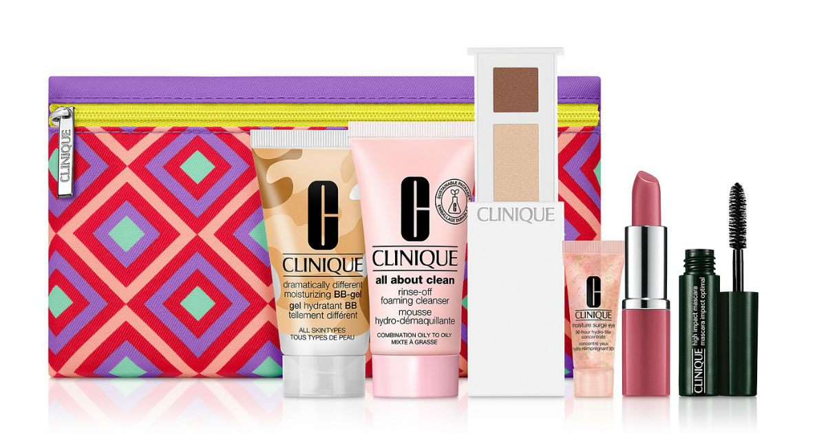 FREE 7 Piece Clinique Gift Set...