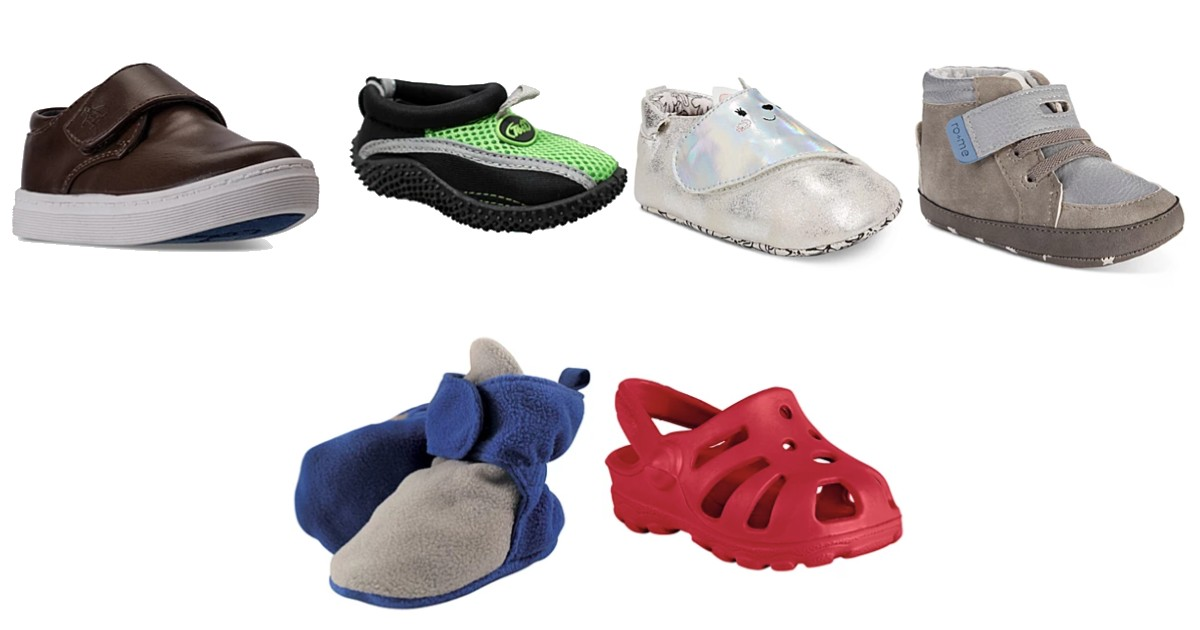 Kids Shoes as Low as $3.75 at Macy's