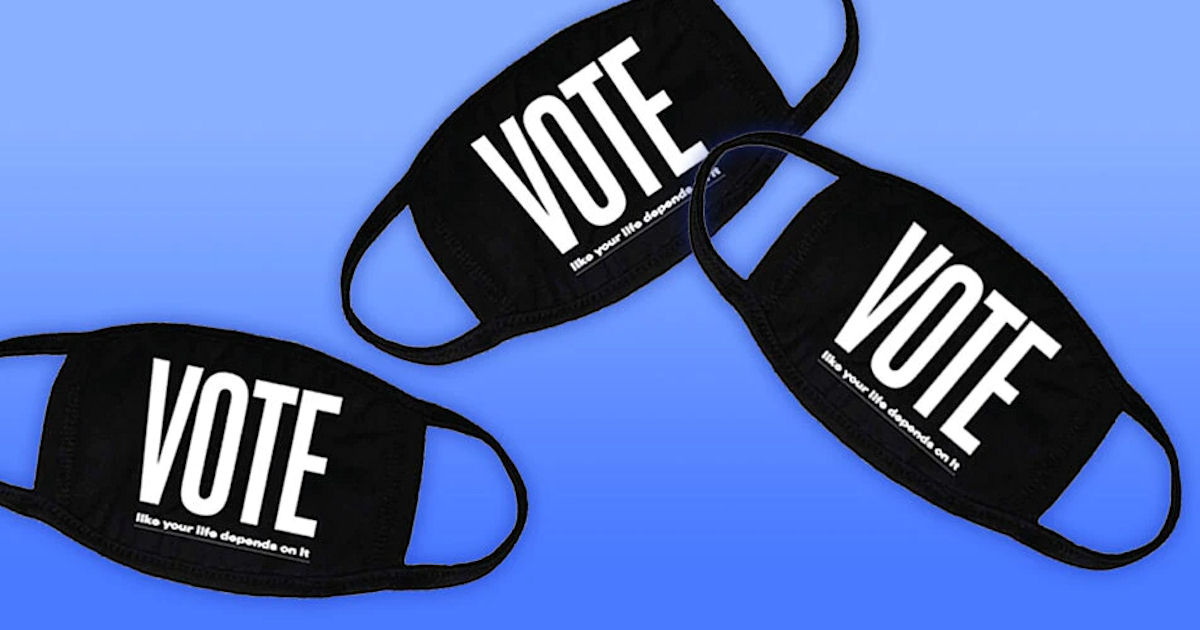 FREE Vote Face Mask