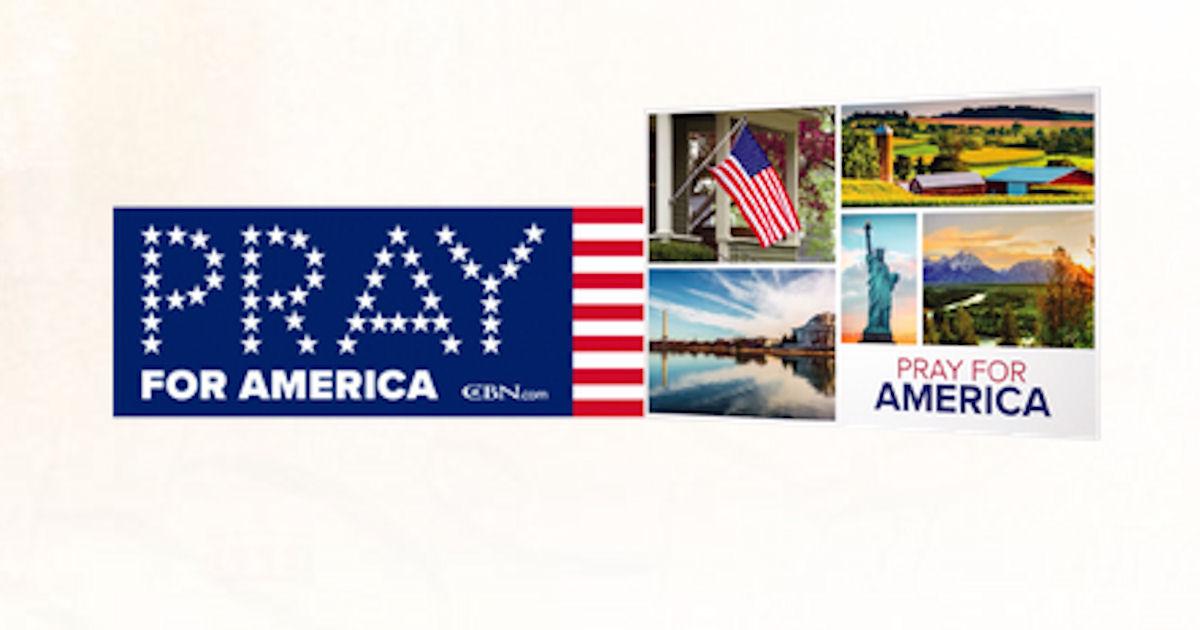FREE Pray for America Bumper S...
