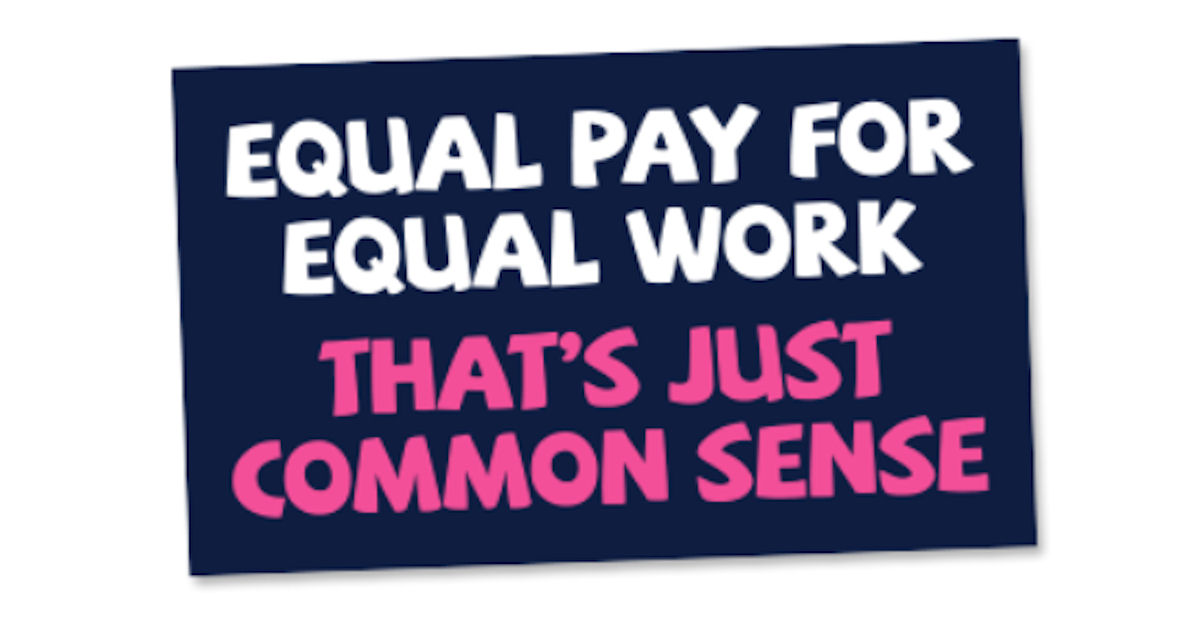 FREE Equal Pay for Equal Work.