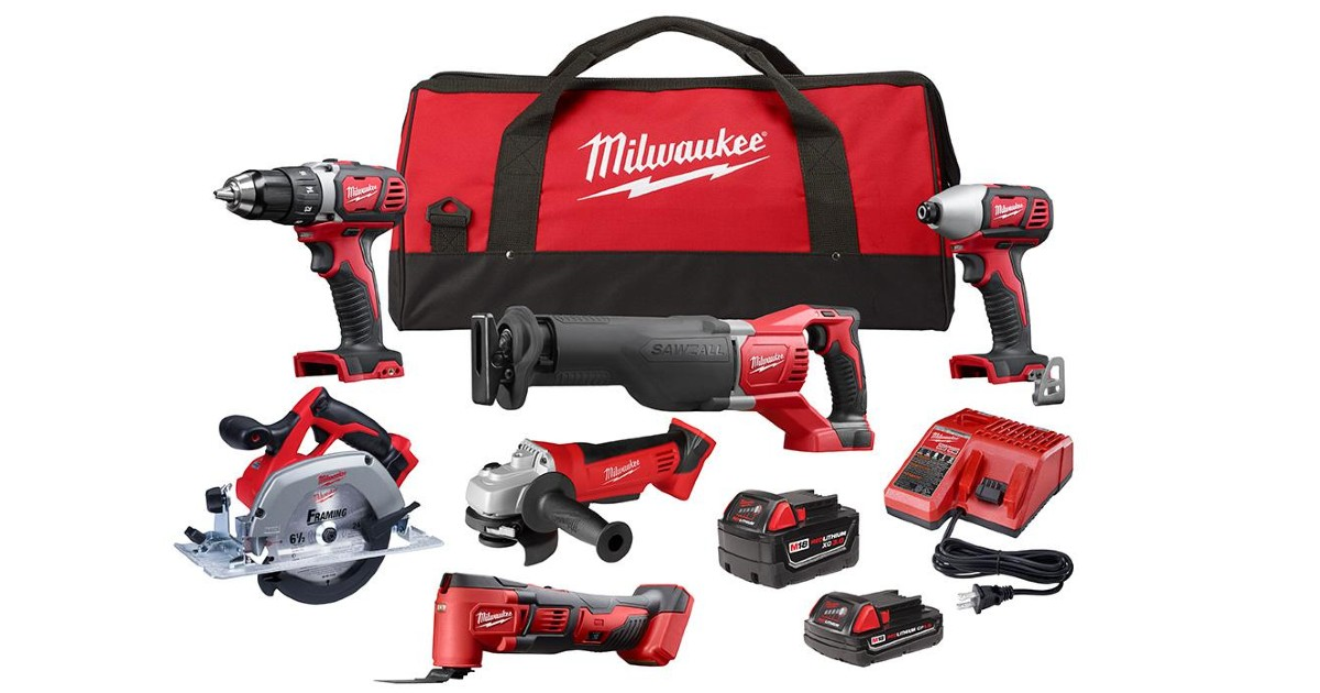 Today Only: Save up to $150 on Milwaukee and Dewalt Tools