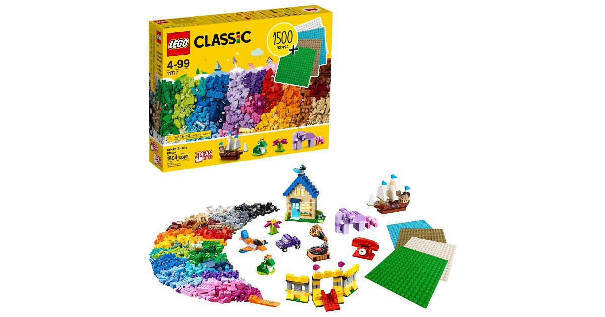 LEGO Classic Bricks at Walmart