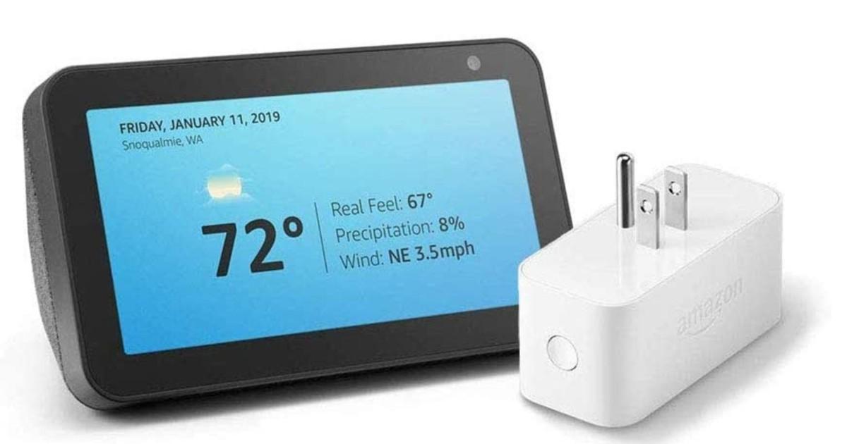 Echo Show 5 with Amazon Smart Plug ONLY $49.99 (Reg. $115)