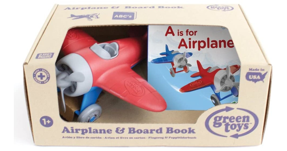Green Toys Airplane & Board Book ONLY $9.79 (Reg. $20)