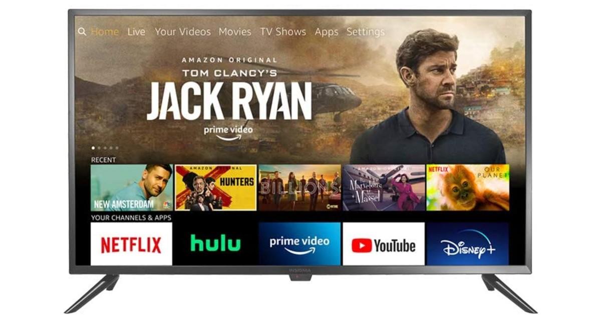 Insignia 24-inch HD SmartFire TV Edition ONLY $79.99