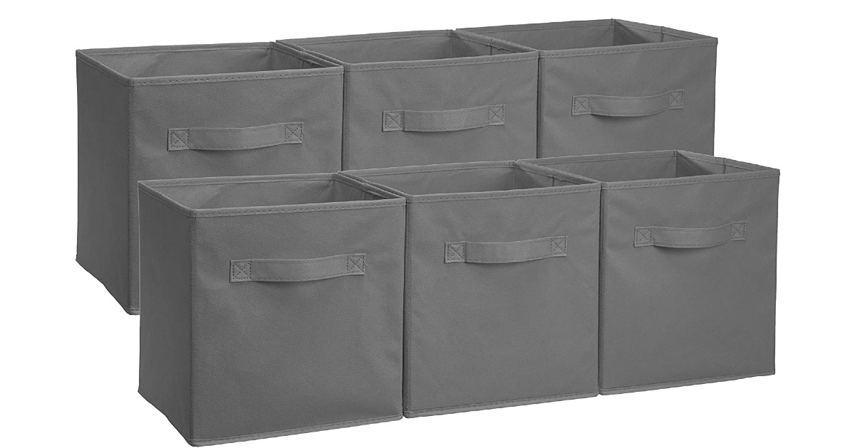 AmazonBasics Collapsible Storage Cubes ONLY $11 (Reg. $20)