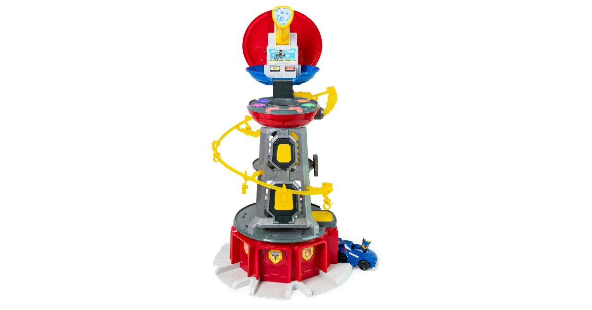 PAW Patrol Lookout Tower Playset ONLY $48.40 (Reg. $100)