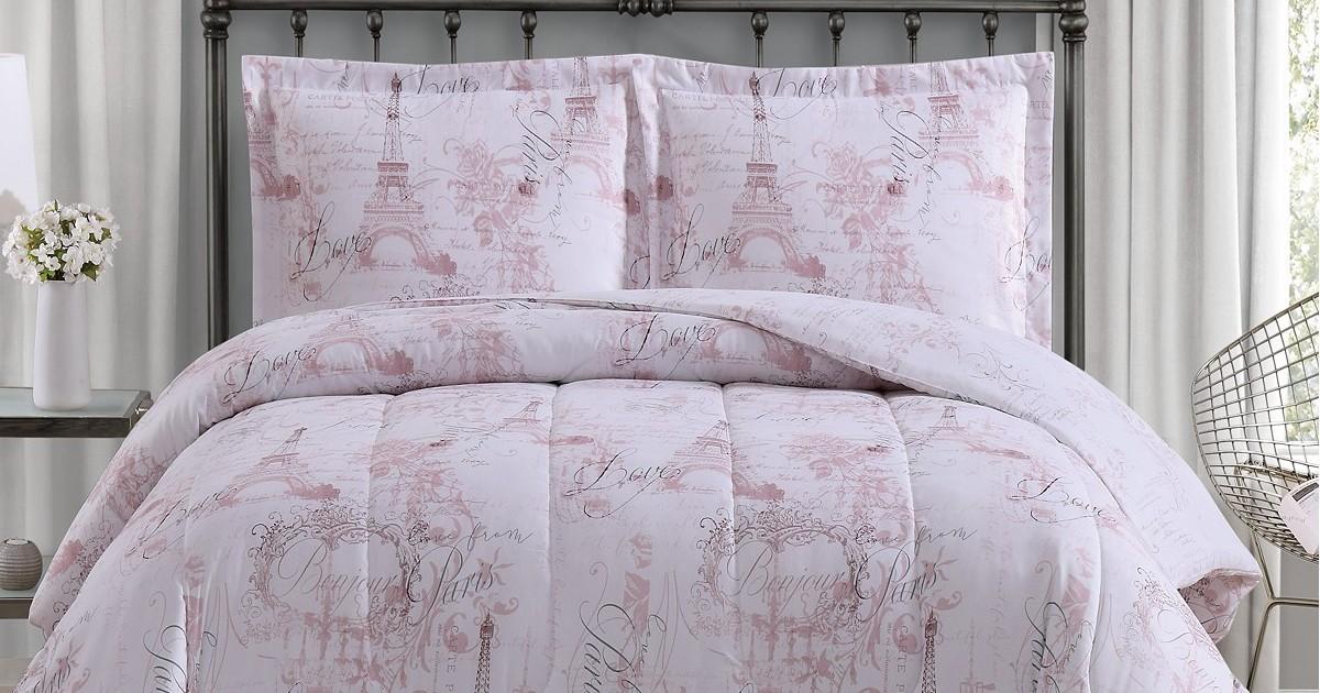 Reversible 3-Pc Comforter Sets...
