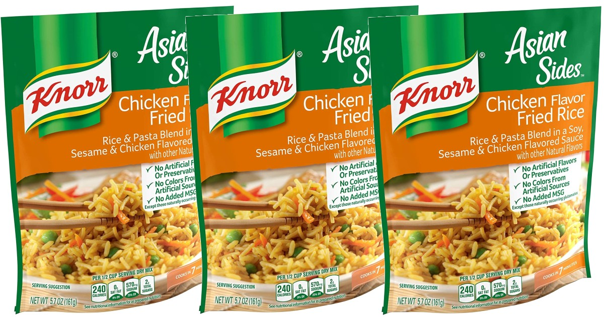 Knorr Rice Sides 8-Pack ONLY $7.14 Shipped