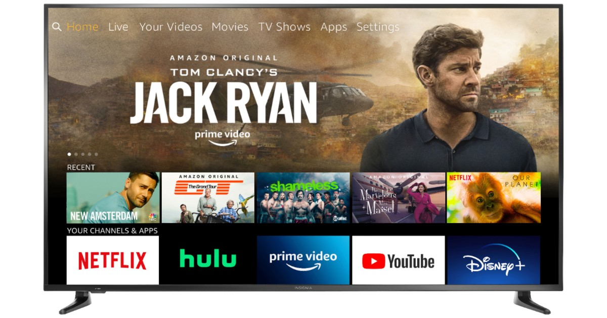 Insignia 70-In LED 4K Smart Fire TV Edition ONLY $499.99 (Reg $650)