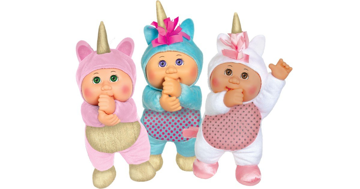Cabbage Patch Cuties 3-Pack ONLY $19.97 at Walmart