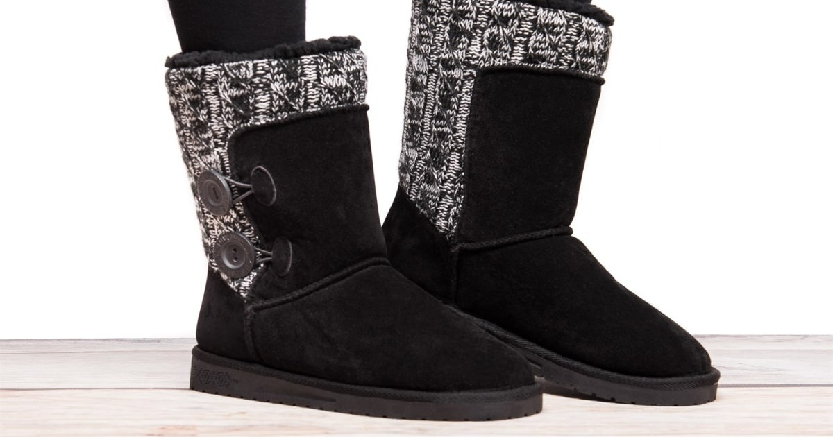 MUK LUKS Women's Matilda Boots on Jane