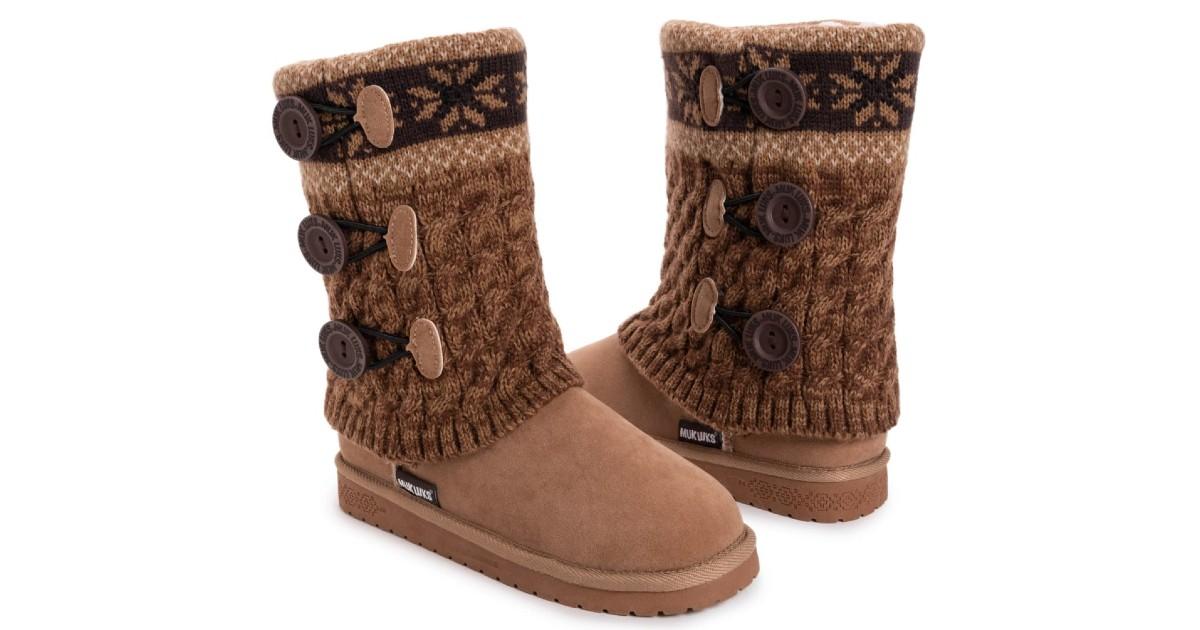 MUK LUKS Women's Cheryl Boots ONLY $34.99 (Reg. $65)