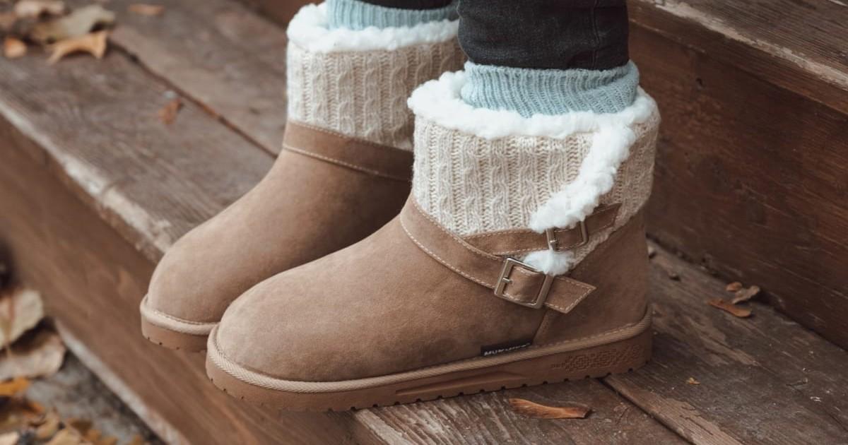 MUK LUKS Women's Alyx Boots ONLY $34.99 (Reg. $65)