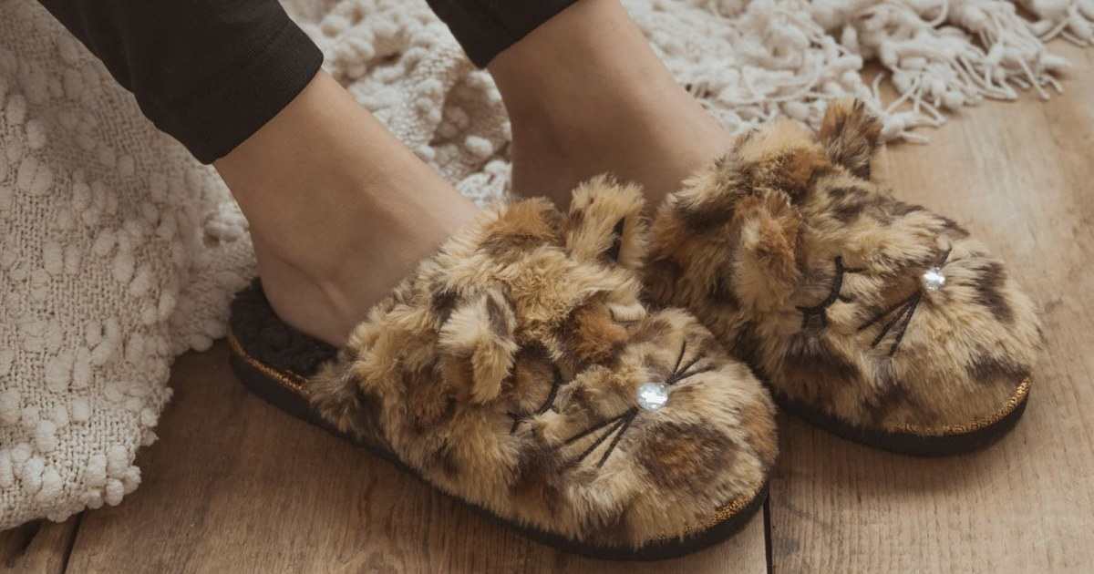 MUK LUKS Women's Critter Slippers ONLY $12.99 (Reg. $34)