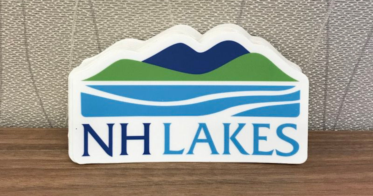 FREE NH Lakes Sticker