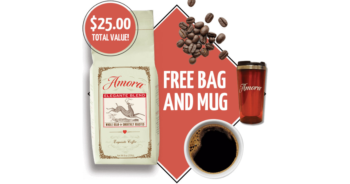 FREE Amora Premium Coffee &...