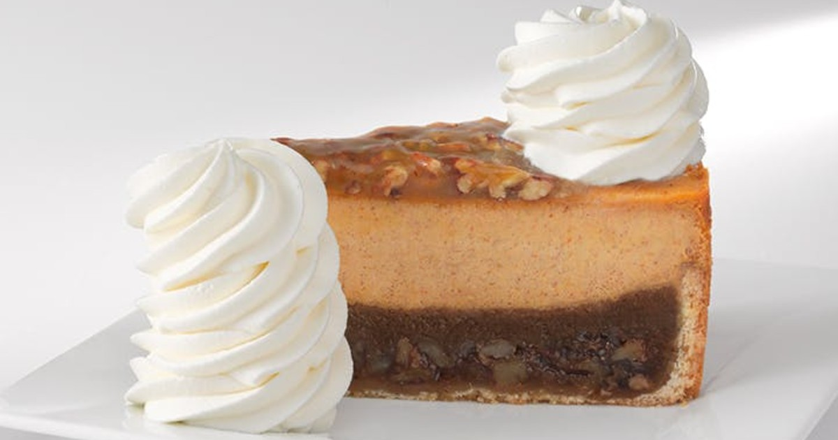 FREE Cheesecake with $30 Online Order at Chessecake Factory