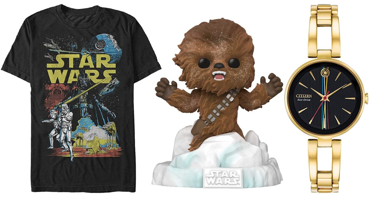 Save up to 55% on Star Wars Gifts on Amazon