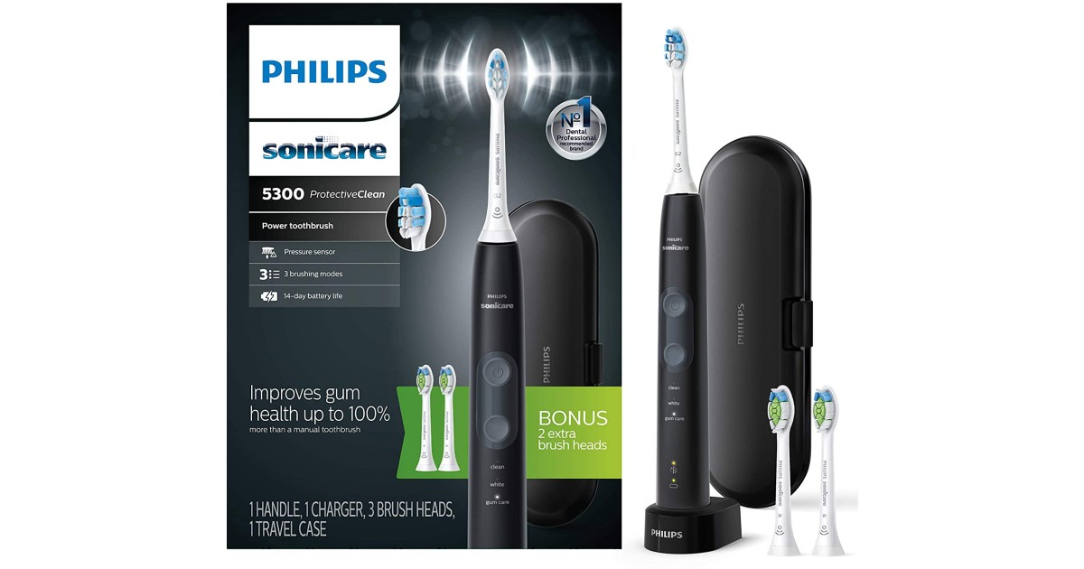 Save 40% on Philips Sonicare Electric Toothbrushes