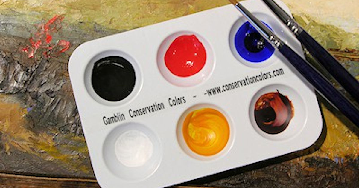 Gamblin Conservation Colors