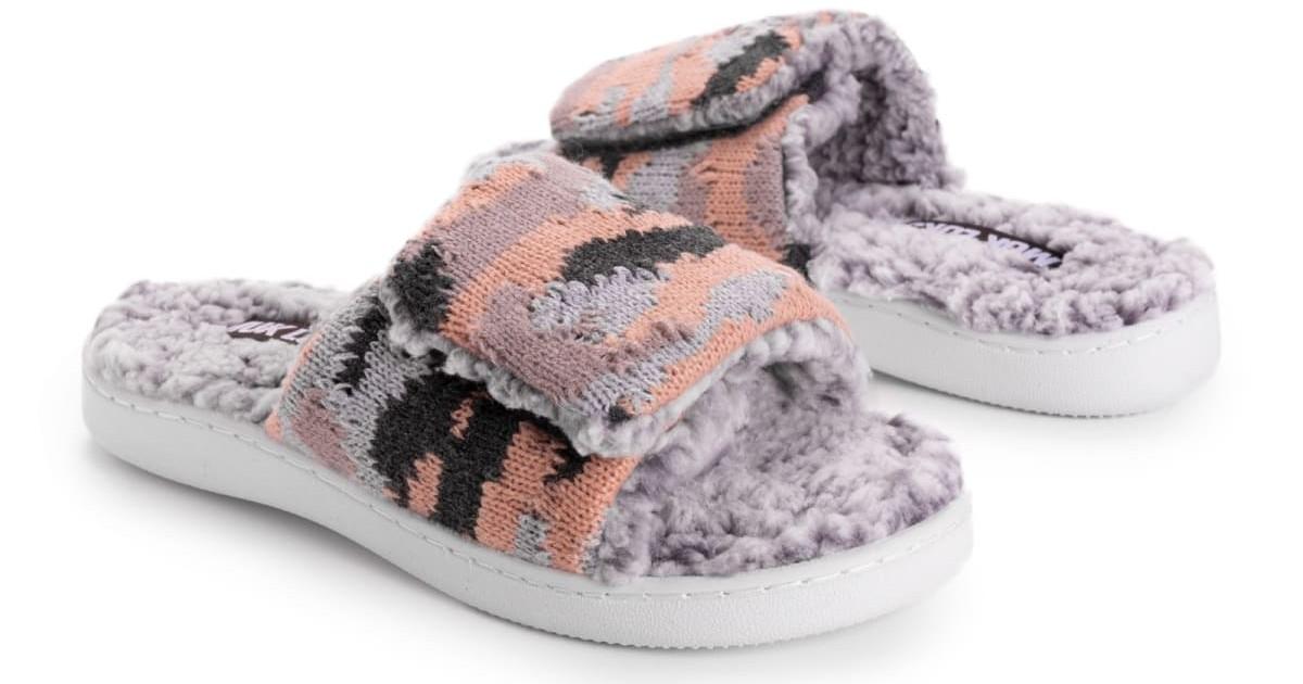 MUK LUKS Women's Janis Slide Slippers ONLY $16.99 (Reg $28)