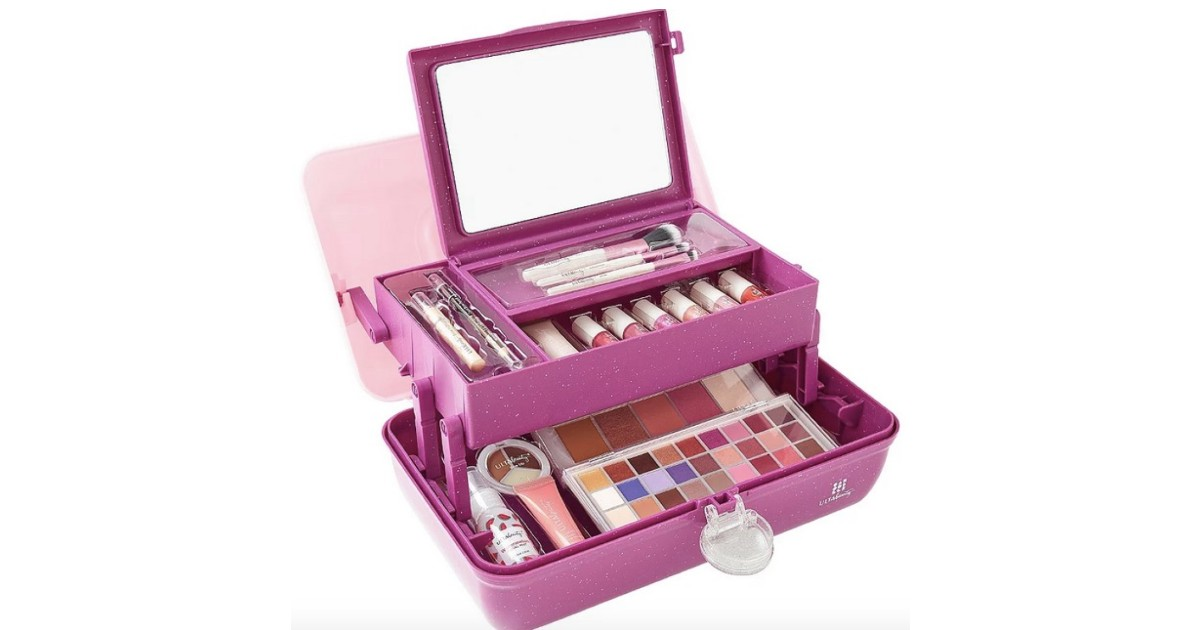 ULTA Caboodles 58-Piece Beauty Box + FREE Gift Only $23.99