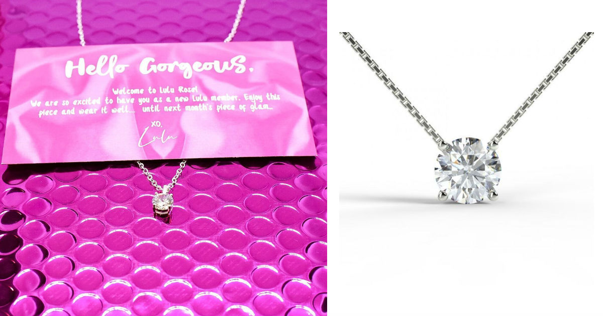 Free 2ct Diamond Pendant Necklace ($39.95 value)