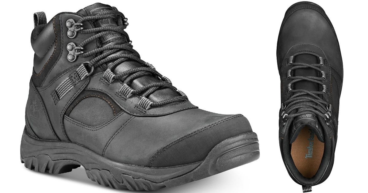 Timberland Men's Hiking Boots ONLY $56.99 at Macy's (Reg $115)