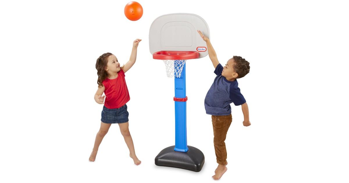 Little Tikes Toy Basketball Set ONLY $19.99 (Reg $35)