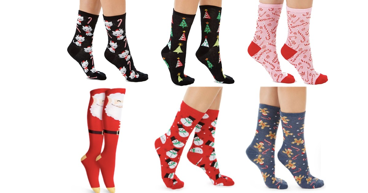 Charter Club Holiday Socks ONLY $2.99 (Reg. $8)