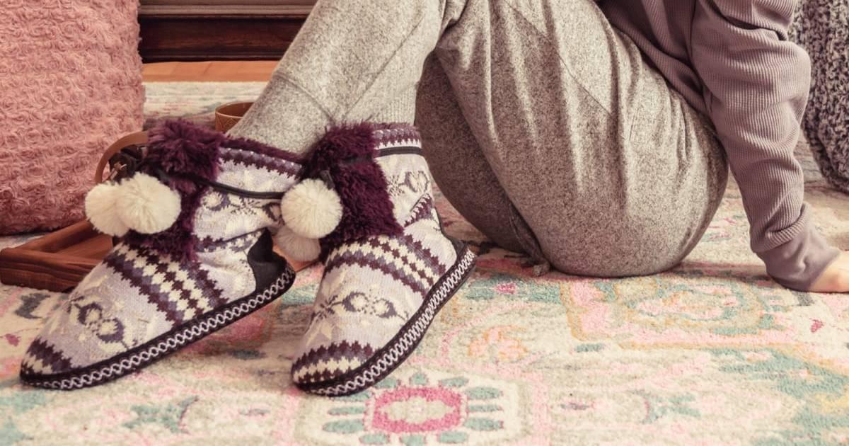MUK LUKS Women's Gracilyn Slippers ONLY $18.99 (Reg. $42)