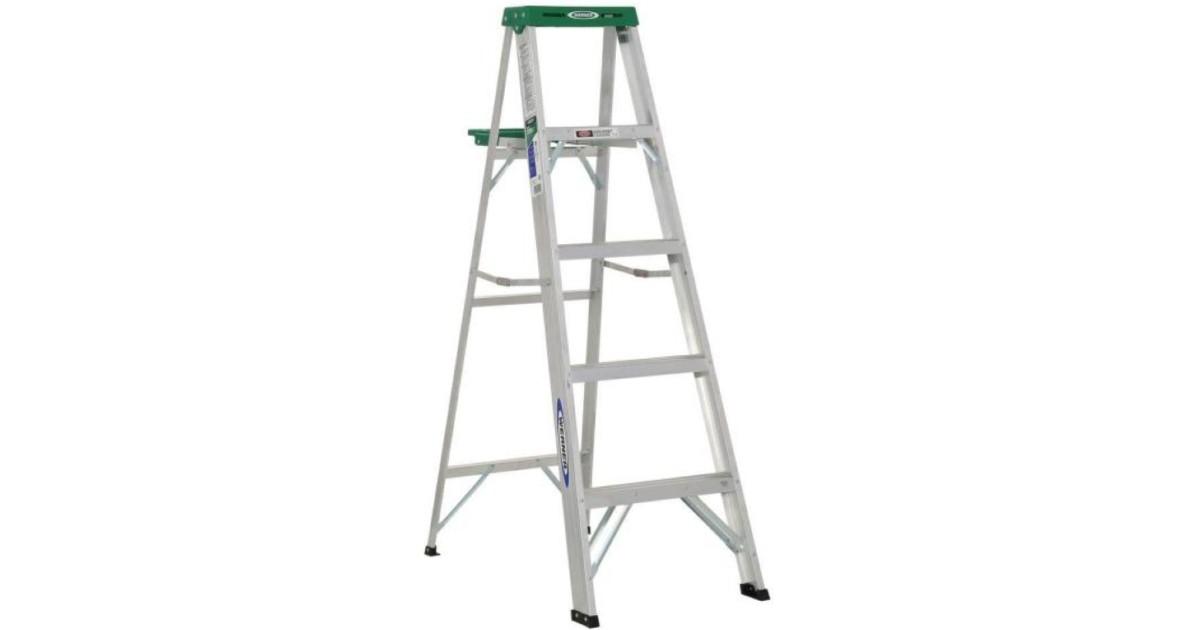 Werner 5-Foot Step Ladder ONLY...