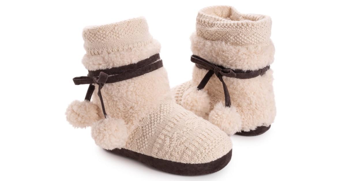 MUK LUKS Women's Delanie Slippers ONLY $18.99 (Reg. $44)