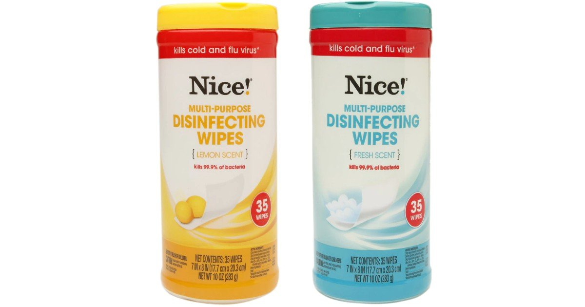 Nice! Disinfecting Wipes ONLY $1.87 Shipped on Walgreens.com