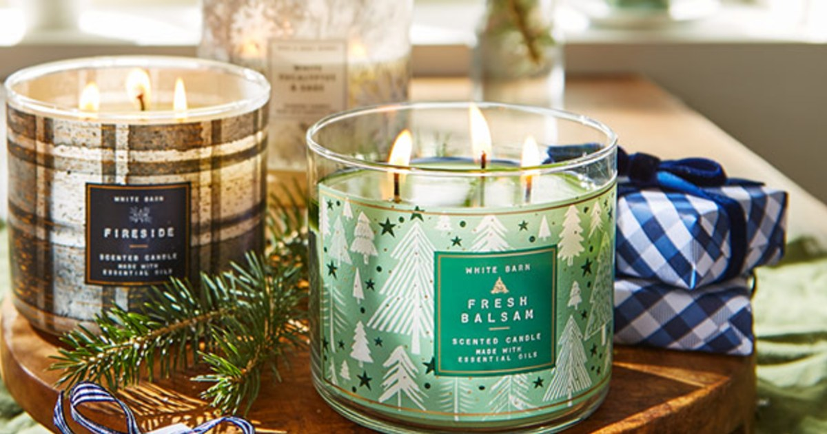 3-Wick Candles at Bath & Body Works