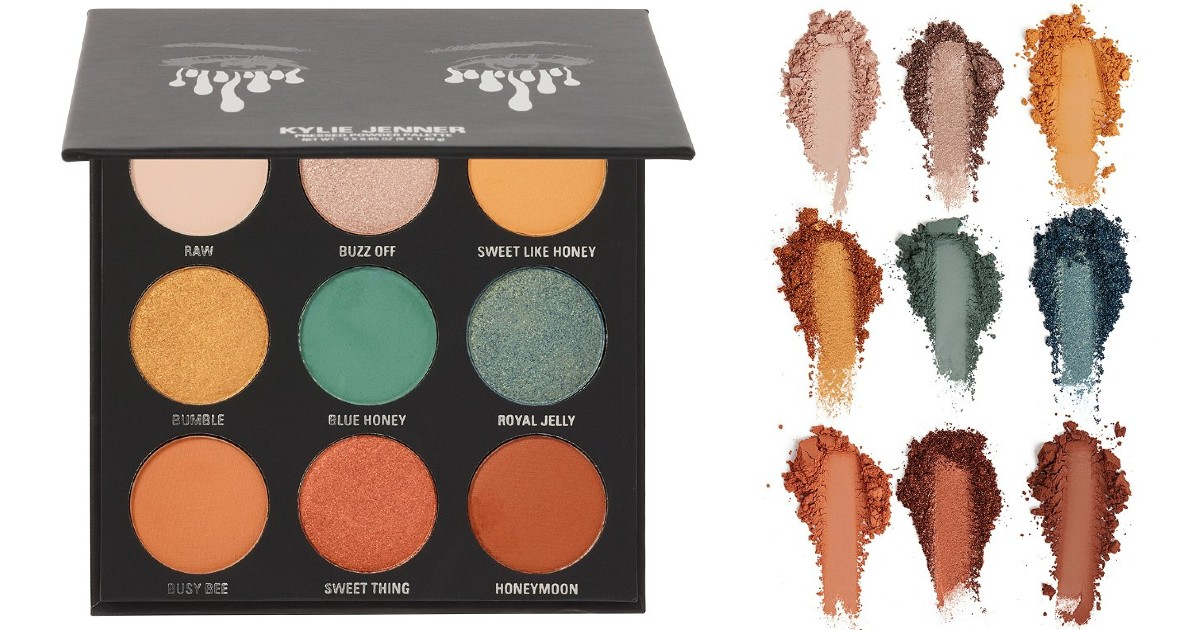 Kylie Cosmetics The Blue Honey Palette Kyshadow ONLY $12