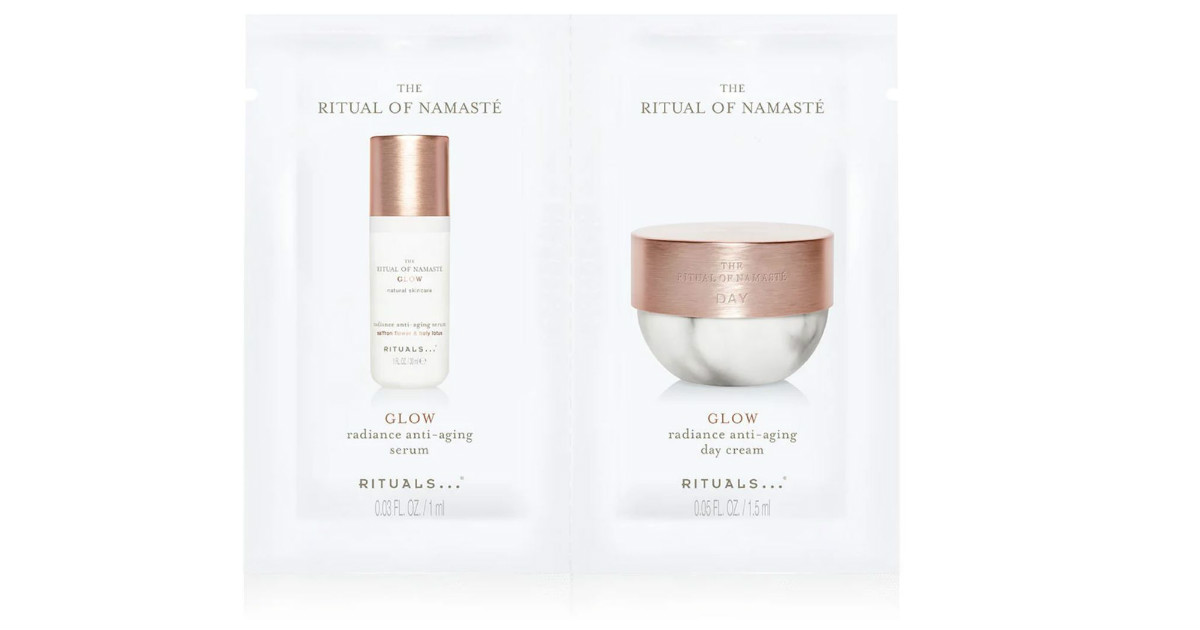 FREE Ritual of Namaste Cream and Serum Sample