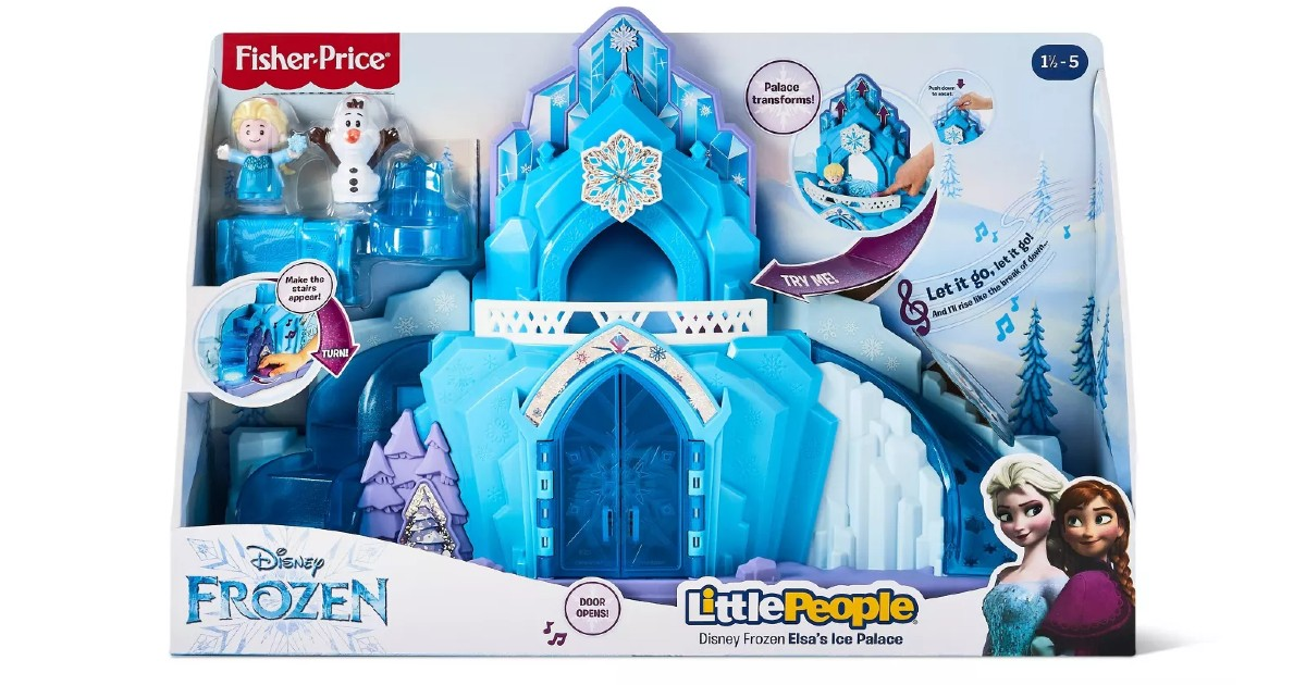 Fisher-Price Disney Frozen Elsa's Ice Palace ONLY $28.49