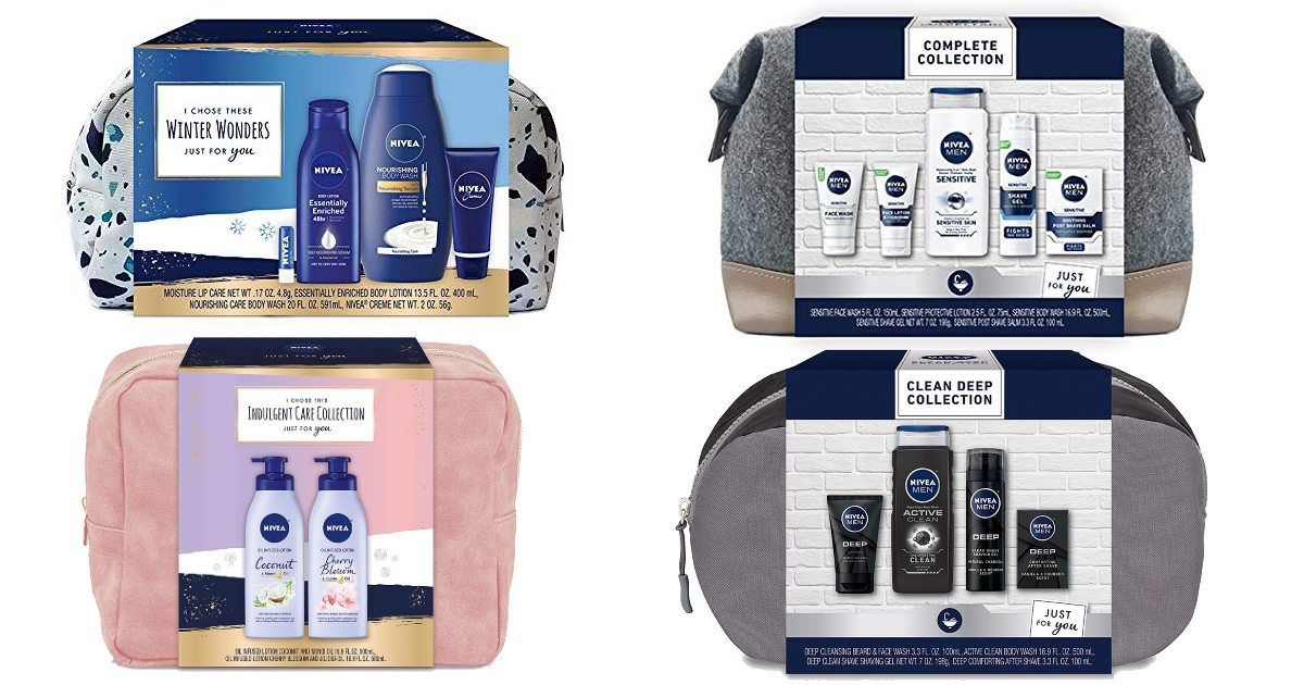 Save 45% on Nivea Gift Sets Today Only