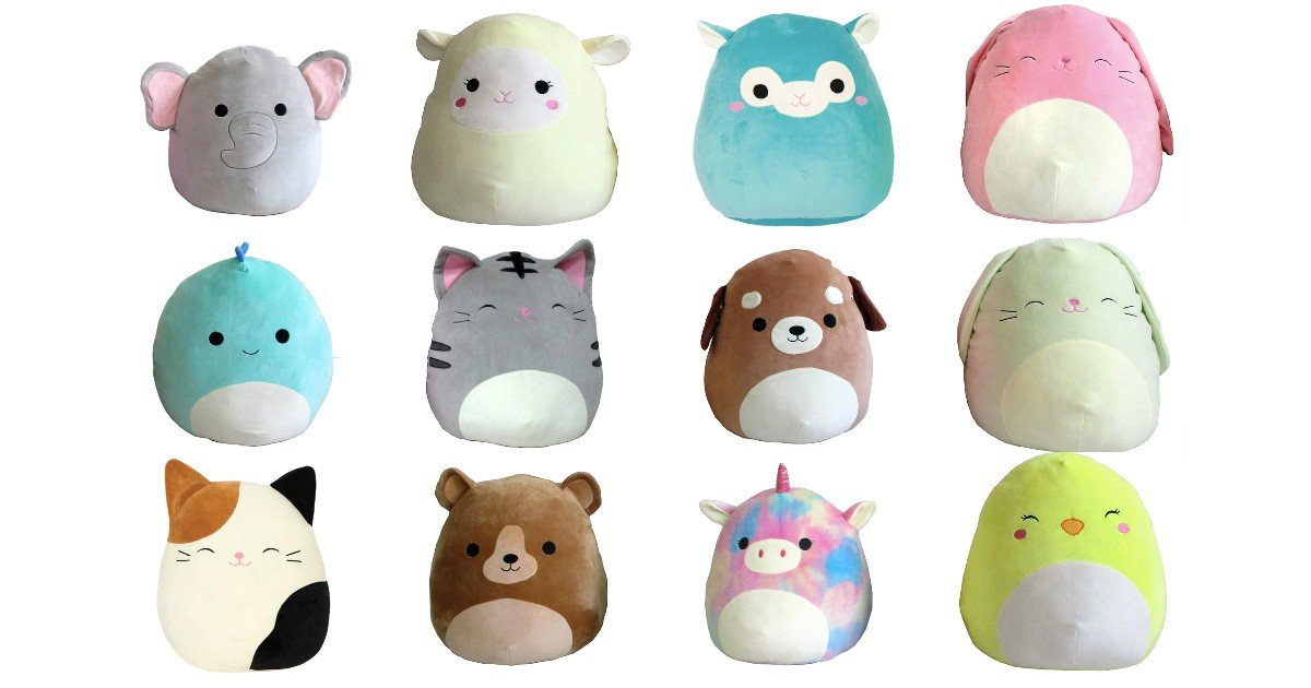 Squishmallow 16-Inch Animal Plush ONLY $10 (Reg. $20)