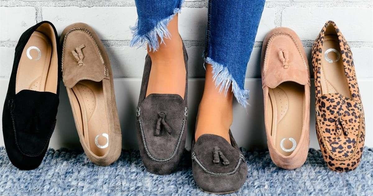 Must Have Comfort Foam Tasseled Loafers ONLY $23.99 (Reg $65)