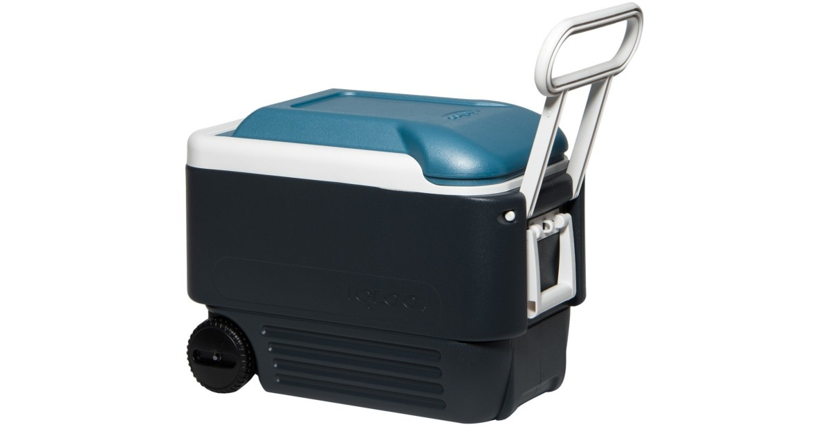 Igloo Maxcold 40 Roller Cooler ONLY $23.99 (Reg. $54)