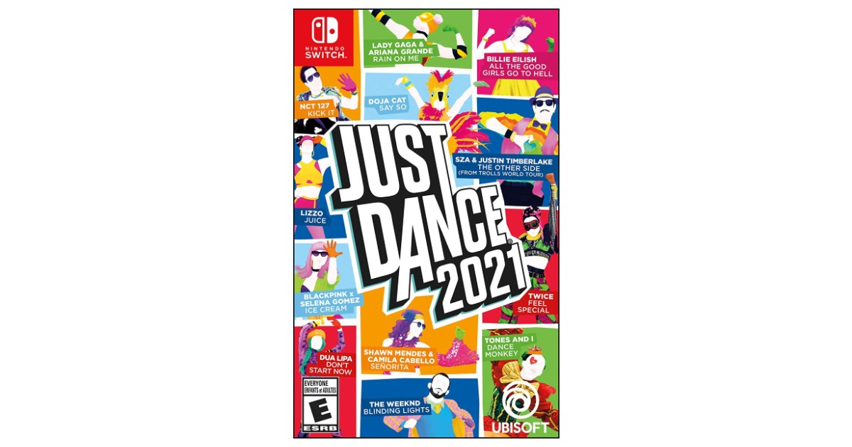 Just Dance 2021 Game ONLY $24.99 Shipped (Reg $50)