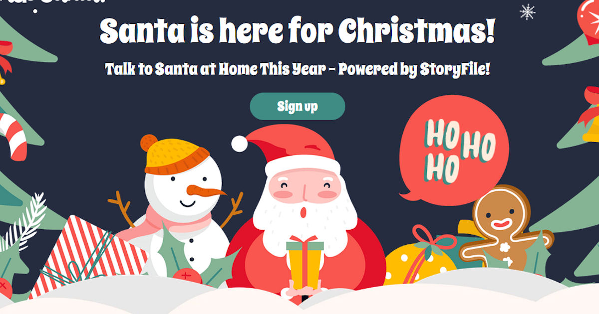Talk to Santa for FREE...