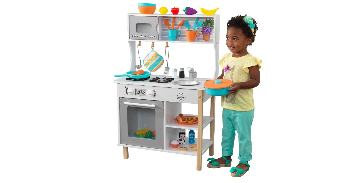 KidKraft All Time Play Kitchen ONLY $49 (Reg. $90)