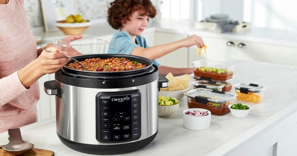Crock-Pot 10qt Digital Multi Cooker ONLY $69.99 (Reg $150)