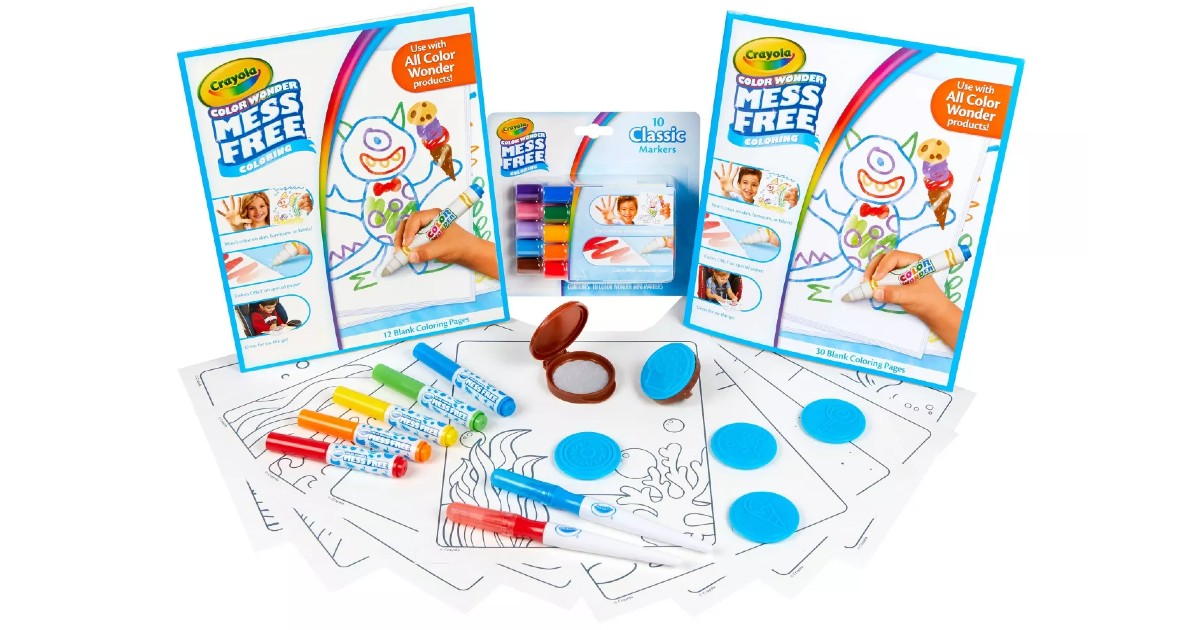 Crayola Color Wonder Mess Free Collection ONLY $14.99 (Reg $30)